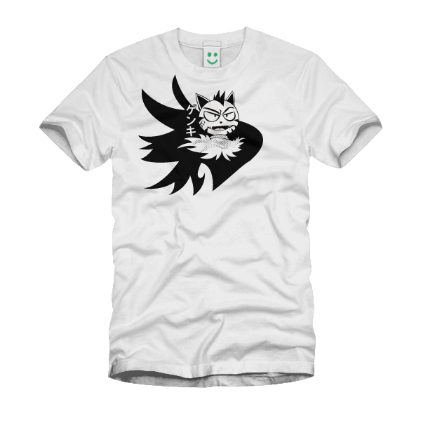 New T-shirt Concept, Boom Boom Kitty